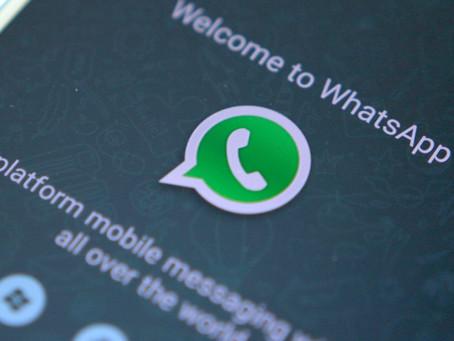 WhatsApp cresce e rivaliza com Facebook no envio de notícias