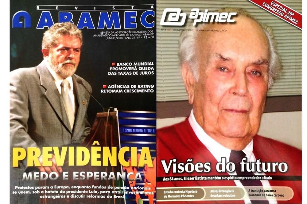 Revista Abamec e Revista Apimec - Cellera 20 anos