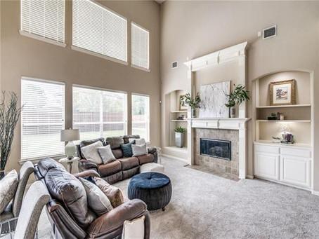 640 Rockhill Prosper, Texas Home Staging