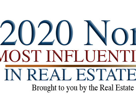"""2020 """"Most Influential People in Real Estate Staging"""" Nomination"""