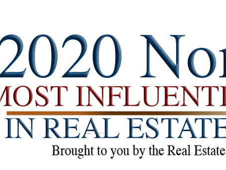 "2020 ""Most Influential People in Real Estate Staging"" Nomination"