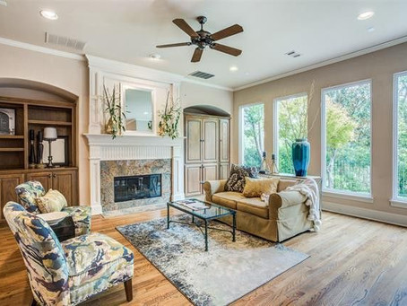 7332 Hill Forest Drive Dallas, Texas Home Staging with Staged 360