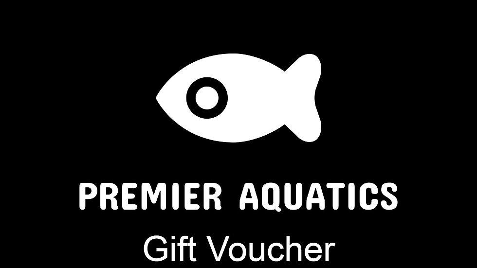Premier Aquatics gift Voucher for £20