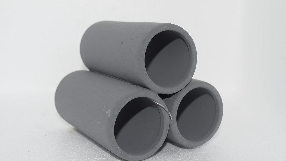 Hugo 3 tube pyramid grey large