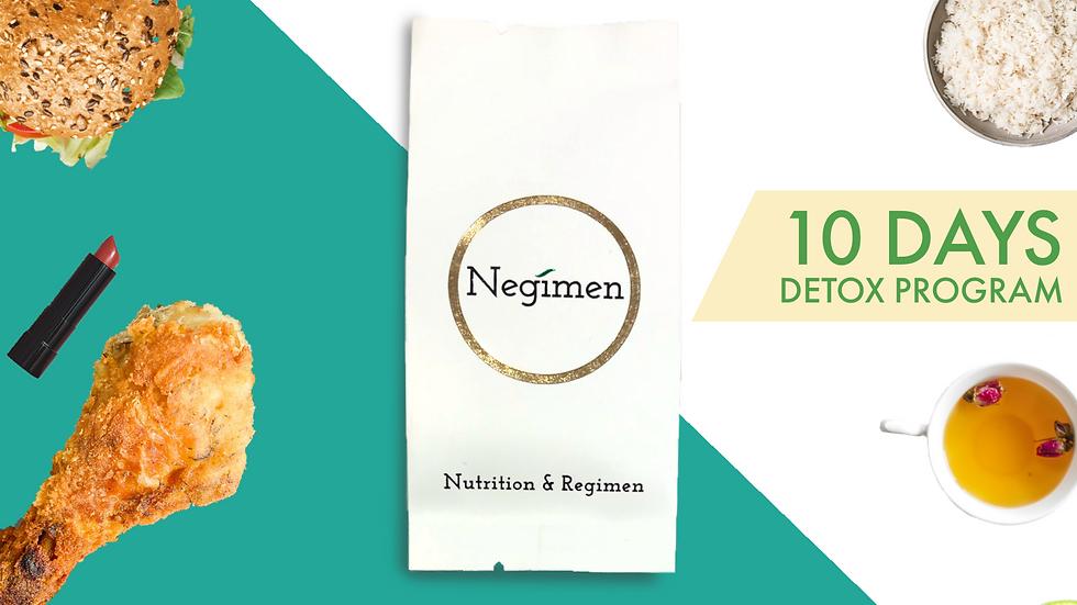 「NEGI-10」10天排毒計劃