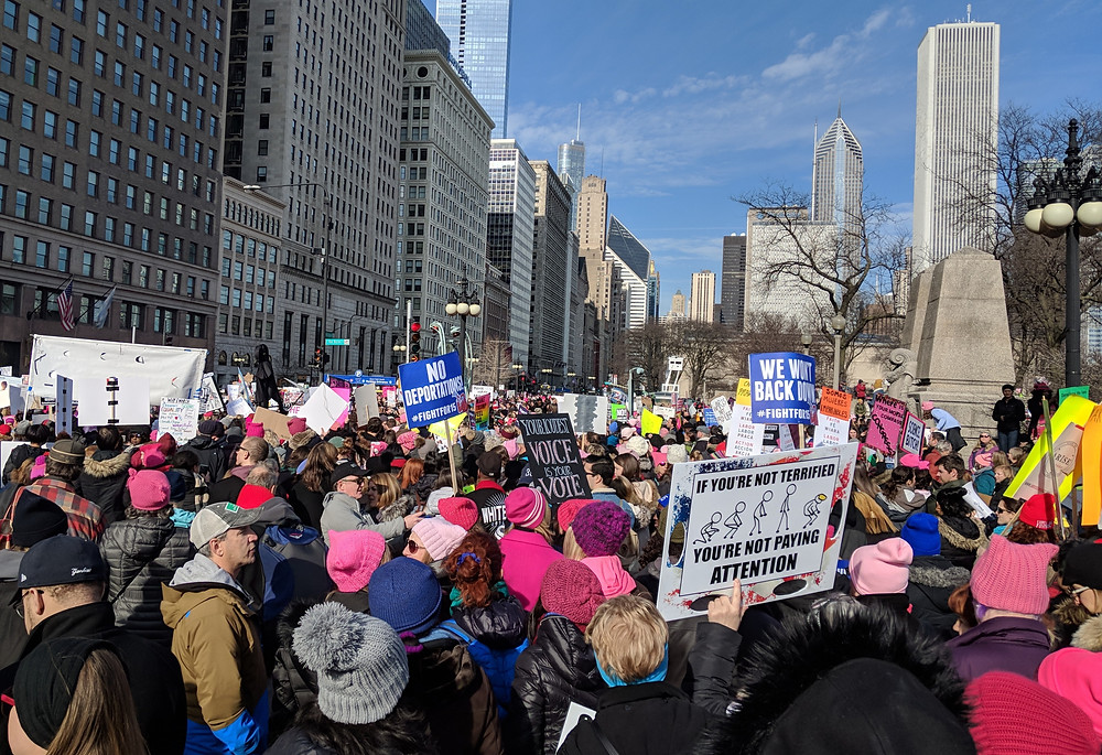 Chicago Women's March 2018