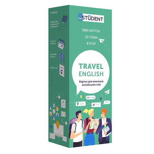 Travel English (уровень А2-В2)