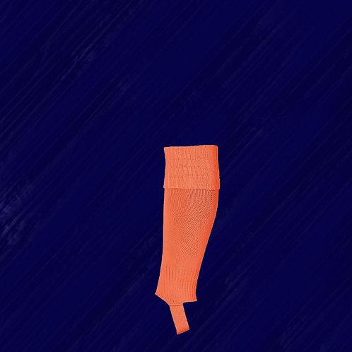 Chaussettes coupées manchon Orange Sénior