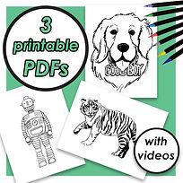 COLORING PAGE PDFS (ROBOT, DOG, TIGER).jpg
