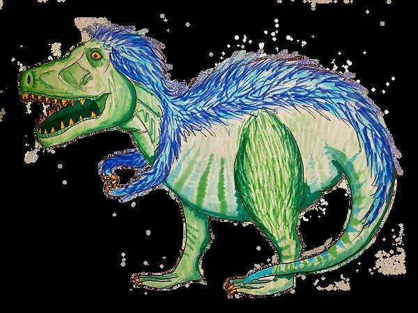 t rex dinosaur drawing