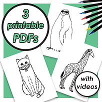 COLORING PAGE PDFS (PENGUIN, CAT, GIRAFFE).jpg