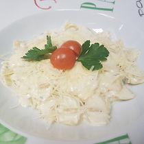 Фарфалле с сыром
