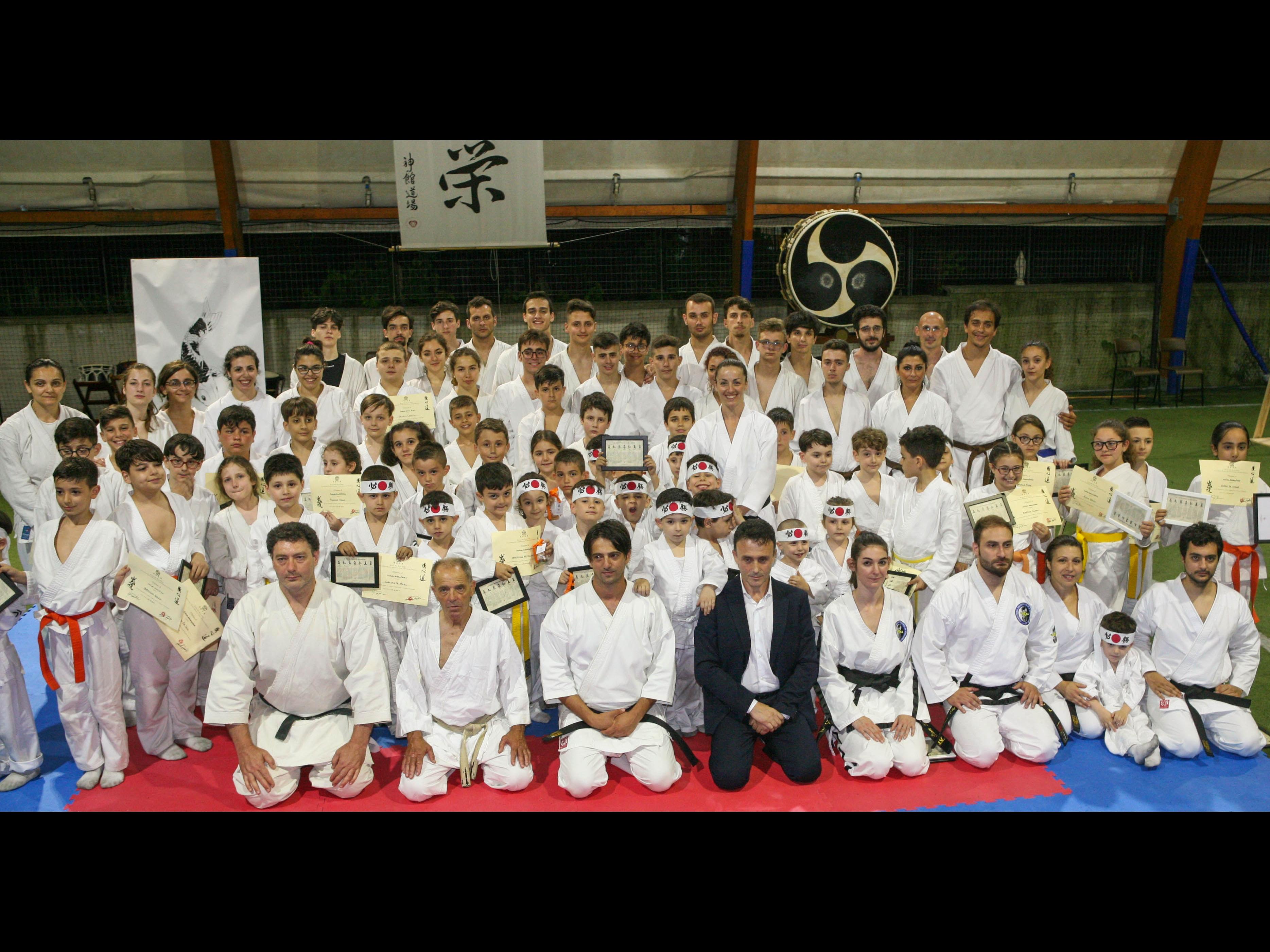 Manifestazione Karate 2019