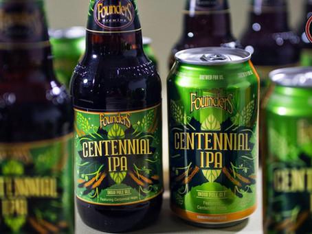 Founders Brewing Co. - Nuova Label per la mitica Centennial IPA