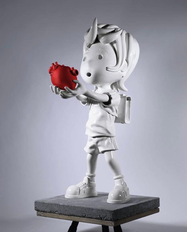 Love Again-Red Heart, 2020