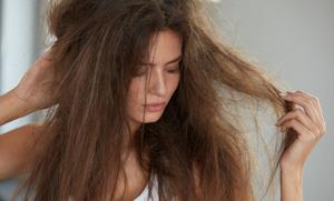 Dry, Damaged, Frizzy, Lifeless Hair