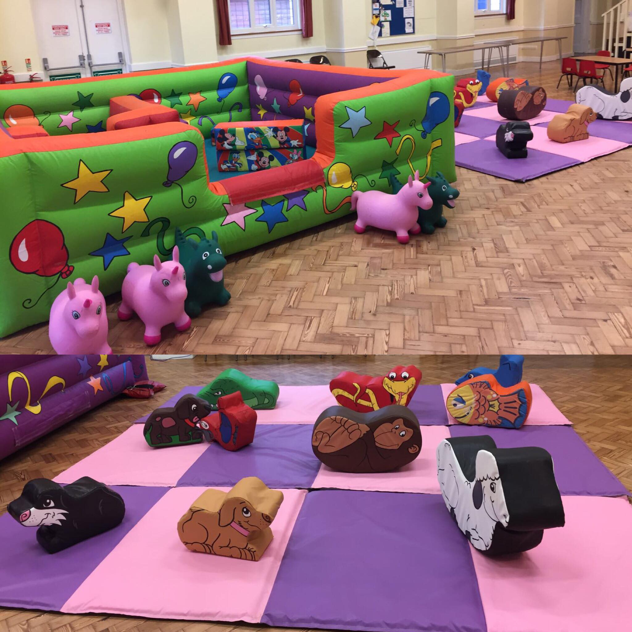 Large Ball Pit & Soft Play
