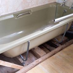 Before - Bath & Toilet