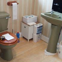 Before - Toilet & Basin