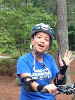 Happy Cyclist