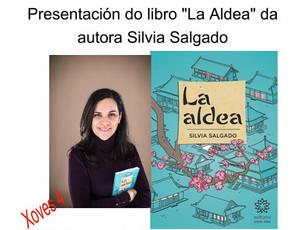 """Presentación de """"La aldea"""" en la Biblioteca Municipal de Verín (Ourense)"""