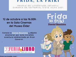 Presentación del 1er premio de literatura infantil canaria 2021 en la Ferial del Libro de Las Palmas