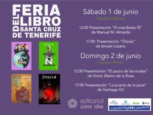 La Feria del Libro de Santa Cruz de Tenerife 2019 con sabor a Editorial siete islas