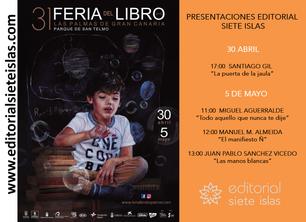 Editorial siete isla en la Feria del Libro de Las Palmas