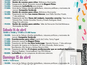 Editorial siete islas en la Feria del Libro de Telde