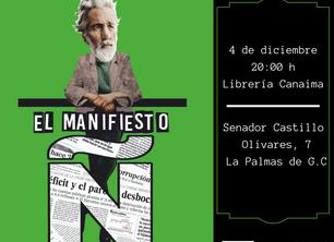 """Presentación """"El manifiesto Ñ"""" en Librería Canaima"""