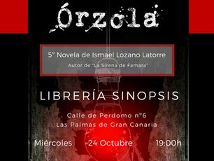 Presentación de Órzola en Las Palmas de Gran Canaria