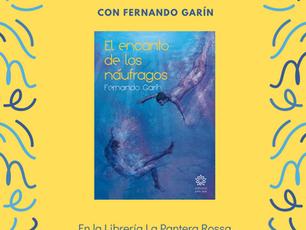 """Presentación de """"El encanto de los náufragos"""" en Zaragoza"""