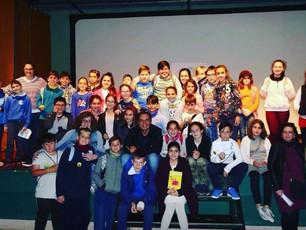Omar el niño cangrejo protagonista del II Congreso de Jóvenes Lectores y Escritores de El Hierro