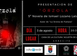 """Editorial siete islas presenta """"Órzola"""" en la Casa de la Cultura """"Agustín de la Hoz"""" en Arrecife"""