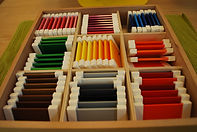 Montessori Kindergarten Schwabing colors