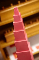 Montessori Kindergarten Schwabing Pink Tower