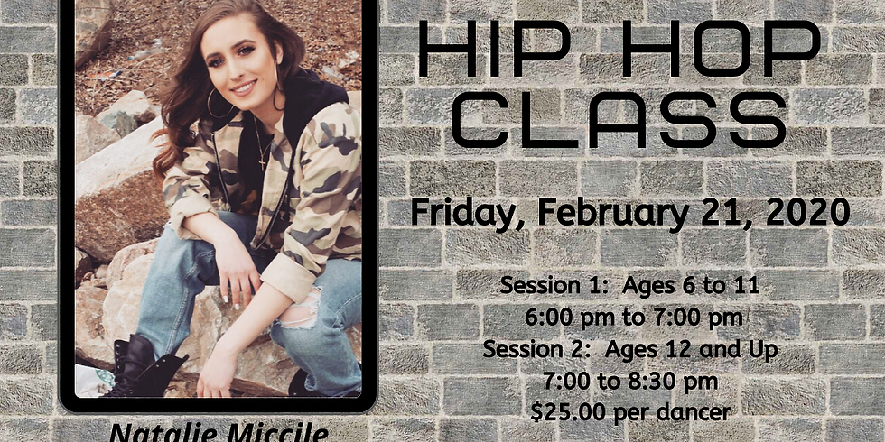 Hip Hop Class - SESSION 2 - $25.00