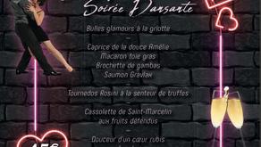 Soirée St Valentin diner Dansant