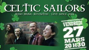 Diner Spectacle-Concert Ven 27 Mars            Soirée St Patrick 2020
