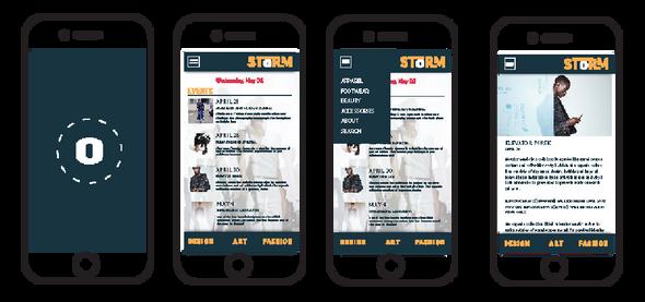 STORM App design (assignment)