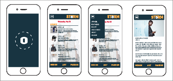 STORM App design (assignment)