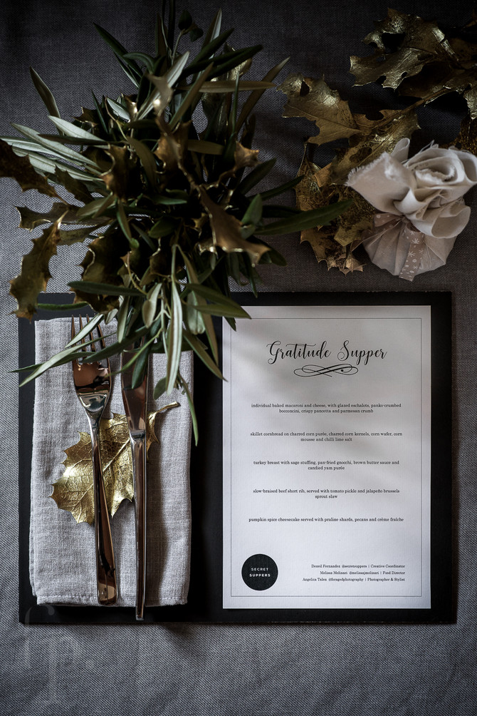 secret suppers | gratitude supper