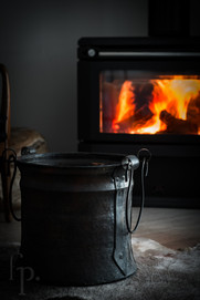 winter fireside comfort