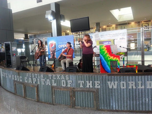 Show At Austin Airport for Music In The Air Series