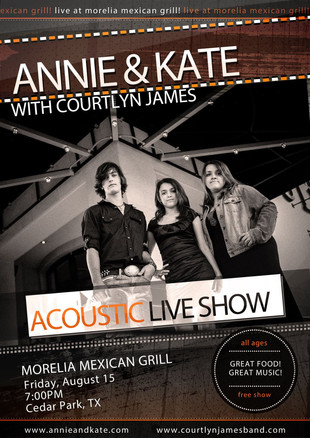 Show At Morelia Mexican Grill | Aug 15