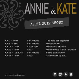 April Shows