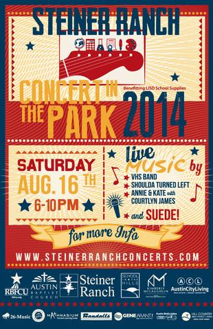 Steiner Ranch Concert In The Park