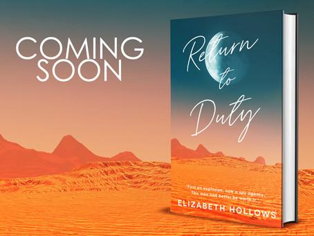 New Novel - Coming Sooner Than You Think!