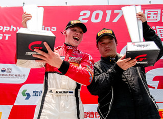 Back to Back – Big Wins in China GT. Lit in Korea Audi R8 LMS Cup.