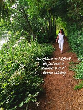 Mindfulness isn't difficult...